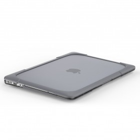 Shockproof Armor Case with Stand for Macbook Pro 13 Touchbar A1706 A1708 - Gray - 5