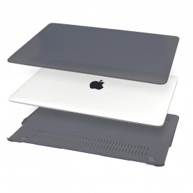 Matte Case for MacBook Pro 13 Inch with Touch Bar (A1706/A1708/A1989) - Gray - 5