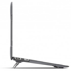 Shockproof Armor Case with Stand for Macbook Pro Retina 15 Inch A1398 - Gray - 6