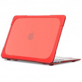 Shockproof Armor Case with Stand for Macbook Pro Retina 15 Inch A1398 - Gray - 7