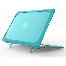 Shockproof Armor Case with Stand for Macbook Pro Retina 15 Inch A1398 - Gray - 8