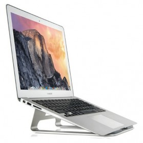 Apple Metal Deluxe Stand Holder for Macbook - AP-1 - Silver