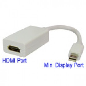 Mini Display Port to HDMI Female Adapter - 1