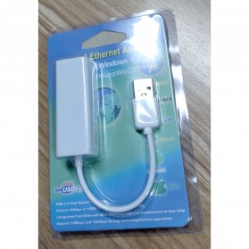 Apple USB Ethernet Adapter - 81RY52 (OEM) - White - 4