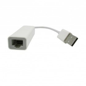 Apple USB Ethernet Adapter - 81RY52 - White - 2