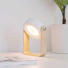 JANPIM Lampu LED Multifungsi Lantera Baca Senter 3D Night Light - JP-DLD - White