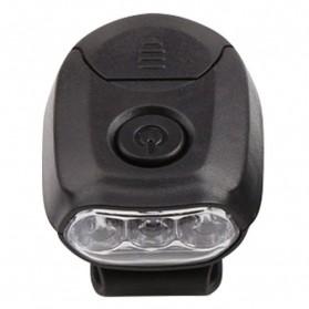 TaffLED Senter Clip Topi 90 Degree Rotatable 3 LED COB - 3325 - Black - 5