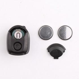 TaffLED Senter Clip Topi 90 Degree Rotatable 3 LED COB - 3325 - Black - 10