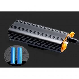 NEWBOLER Lampu Sepeda LED XM-L T6 Dual Head 7000 Lumens - LIG015 - Black - 5