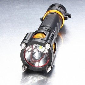 TaffLED  Senter LED Tactical Self Defense Police Cree XM-L T6 2000 Lumens - WY6112 - Black - 7