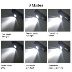 BORUIT Senter Kepala Headlamp Flashlight Headlight LED XML L2 - EHL0628 - Black - 8