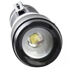 Pocketman Senter LED Mini USB Rechargeable Battery Cree T6+COB - TG-S019 - Black - 4