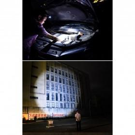 Albinaly Senter Headlamp Light Cree XM-L T6 + 2 LED - TG-T006 - Black - 11
