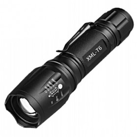 TaffLED Albinaly Senter LED Mini Cree XM-L T6 - TG-S142 - Black