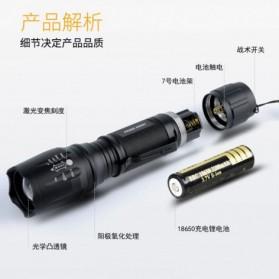TaffLED Albinaly Senter LED Mini Cree XM-L T6 - TG-S142 - Black - 3