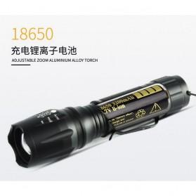 TaffLED Albinaly Senter LED Mini Cree XM-L T6 - TG-S142 - Black - 7