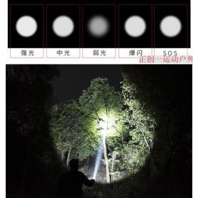 TaffLED Albinaly Senter LED Mini Cree XM-L T6 - TG-S142 - Black - 10