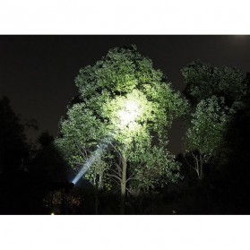 TaffLED Albinaly Senter LED Mini Cree XM-L T6 - TG-S142 - Black - 11
