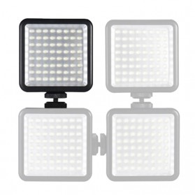 Fasdga Flash Led 64 Panel Light Portable Mini Video Lighting For Canon Nikon Sony A7 - Black - 4