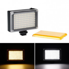 Ulanzi Fill Light Lampu Kamera Video Portable 112 LED Beads - FT112 - Black