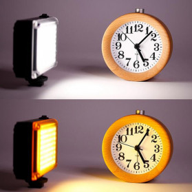 Ulanzi Fill Light Lampu Kamera Video Portable 112 LED Beads - FT112 - Black - 4