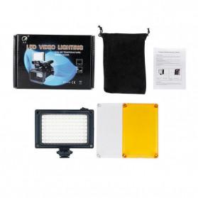 Ulanzi Fill Light Lampu Kamera Video Portable 112 LED Beads - FT112 - Black - 5