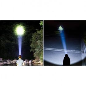 Albinaly Senter Kepala Headlamp Cree XM-L2 + 2XPE + Red Blue LED - TG-007 - Black - 10