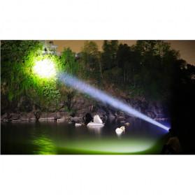 Albinaly Senter Kepala Headlamp Cree XM-L2 + 2XPE + Red Blue LED - TG-007 - Black - 9