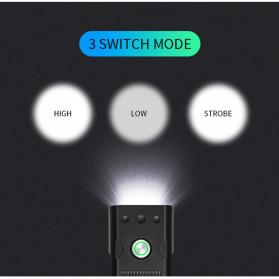 TRLIFE Lampu Sepeda Rechargeable 1200mAh LED XM-L T6 20000 Lumens - NX3 - Black - 5
