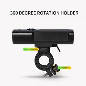 TRLIFE Lampu Sepeda Rechargeable 1200mAh LED XM-L T6 20000 Lumens - NX3 - Black - 6
