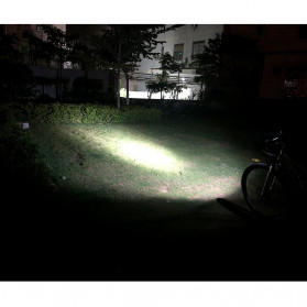 TRLIFE Lampu Sepeda Rechargeable 1200mAh LED XM-L T6 20000 Lumens - NX3 - Black - 8
