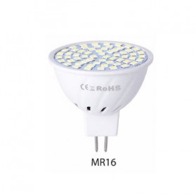 WENNI Lampu Bohlam LED Spotlight Bulb 80 LEDs 9W 220V MR16 - White
