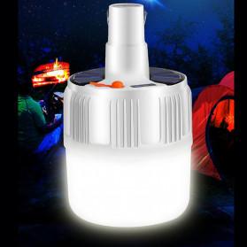Oobest Lampu Gantung Bohlam LED Solar Panel Lamp Hanging Night Light 80W - V51 - White - 3