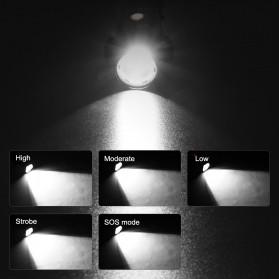 Linkax Senter LED Telescopic Zoom Flashlight P50 2000 Lumens - Lin50 - Black - 6