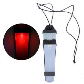 TFL Lampu Helm Tactical Bike Flashlight Helmet Signal Light - WEX234 - Red