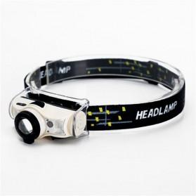HLL Headlamp Flashlight Senter LED Kepala Rechargeable - T103 - Black