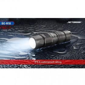 JETBeam DC-R10 Senter LED Cree XP-L 750 Lumens - Black - 10