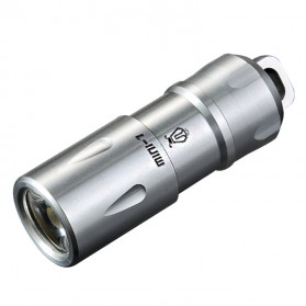 JETBeam Mini-1 Tiny USB Rechargeable Light Senter LED CREE XP-G2 130 Lumens - Silver