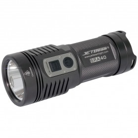 JETBeam SRA40 Senter LED CREE XP-L 1100 Lumens - Black
