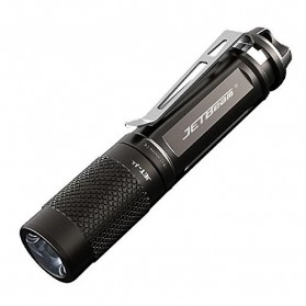 JETBeam Jet-U Tiny Flashlight Senter LED CREE XP-G2 135 Lumens - Black