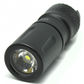 JETBeam Mini-1 AL Tiny USB Rechargeable Light Senter LED CREE XP-G2 130 Lumens - Black - 2