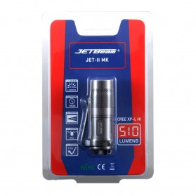 JETBeam JET-II MK Senter LED CREE XP-L HI 510 Lumens - Black - 5