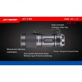 JETBeam JET-II MK Senter LED CREE XP-L HI 510 Lumens - Black - 6