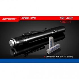 Jetbeam SE-A02 Senter Tiny Pen LED CREE XP-G3 280 Lumens - Black - 7