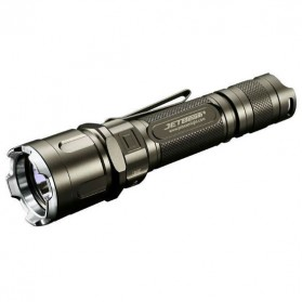 JETBeam Jet-IIIM Pro Tactical Flashlight Senter LED CREE XP-L 1100 Lumens - Black