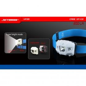 Niteye HP35 LED Headlamp Senter Cree XP-G3 200 Lumens - White - 2