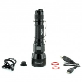 JETBeam SF-R28 Senter LED CREE XHP50 1500 Lumens - Black - 9