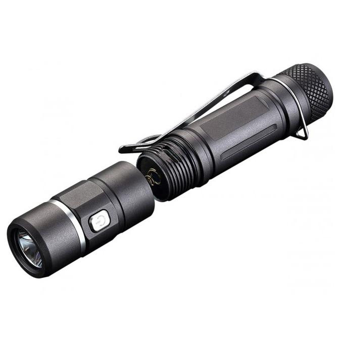 JETBeam E10R Senter LED CREE XP-L HI 650 Lumens - Black