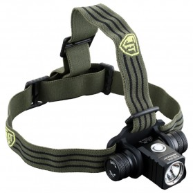 JETBeam HR25 Headlamp Senter LED SST40 N4 BC 1180 Lumens - Black - 1