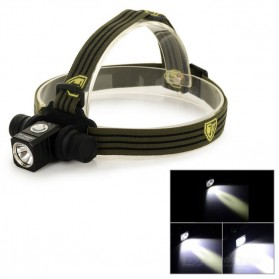 JETBeam HR25 Headlamp Senter LED SST40 N4 BC 1180 Lumens - Black - 5